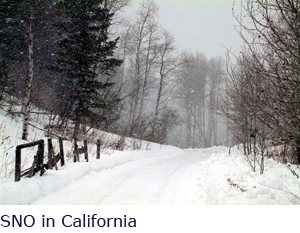 SNO in California